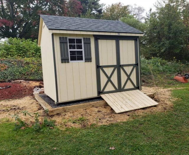 8x10 Backyard A Frame Storage Shed