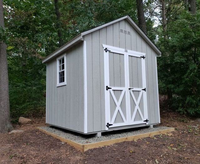 8x8 Backyard A Frame Storage Shed