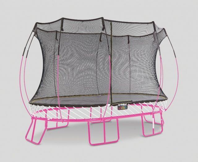 Custom Springfree Trampoline Pink