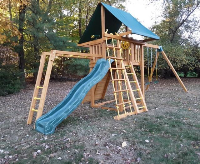 Eastern Jungle Gym Dream Swing Set