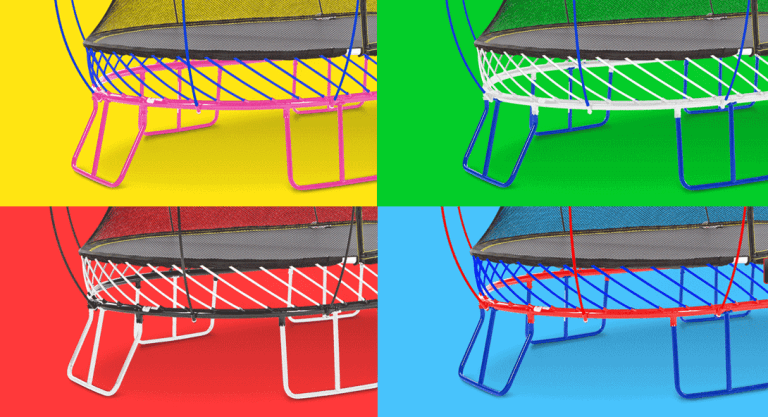 Springfree Trampoline Custom Color Design