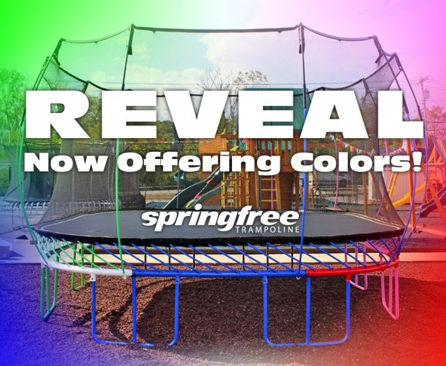 Springfree Now Comes in COLORS!