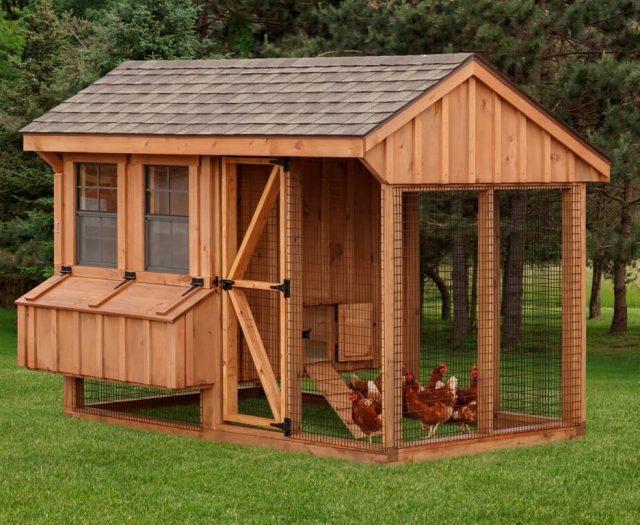Quaker Combo Chicken Coop & Run