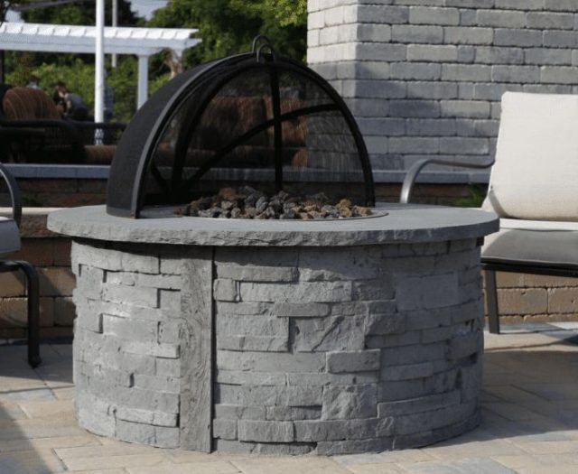 Nicolock Ovation Fire Pit with Cover