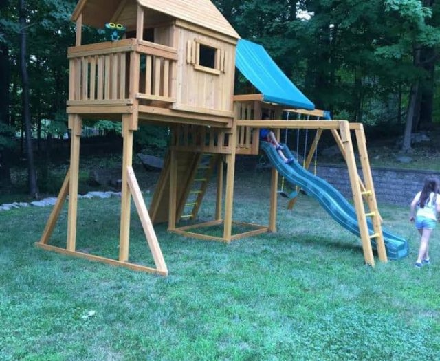 Sky Tree House with Add-on Monkey Bars