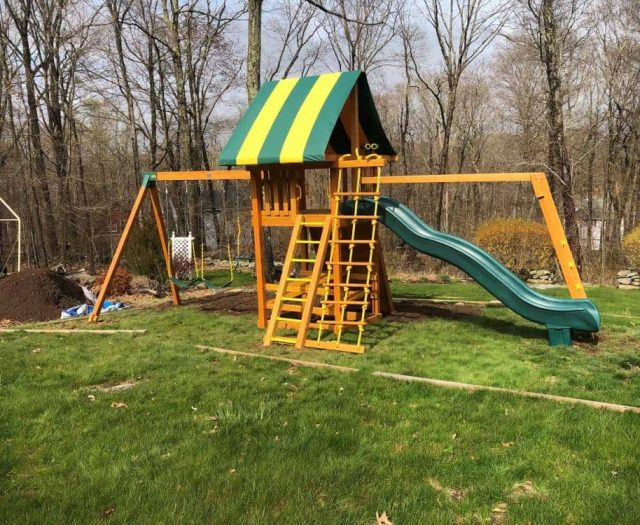 Ultimate Jungle Gym with Add On Picnic Table and Monkey Bar