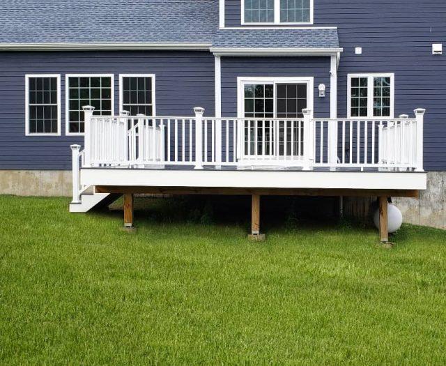 west gray composite deck