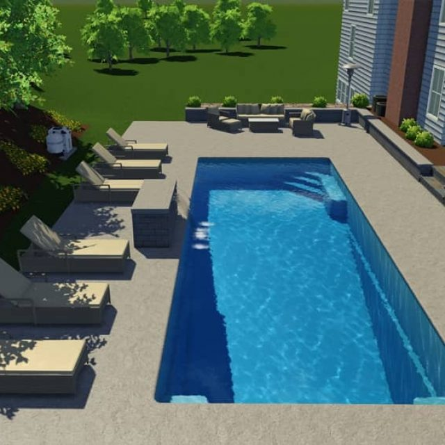 small inground pool designers in ny