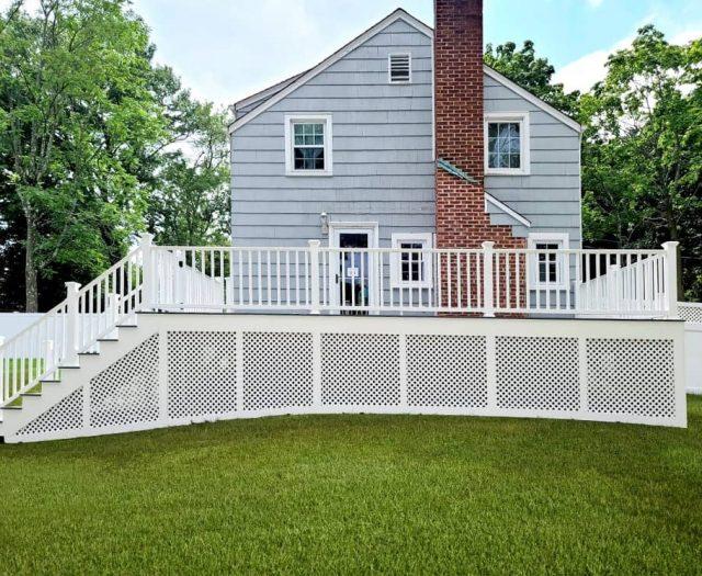 west grey composite deck