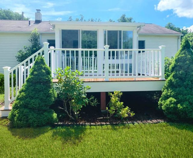 composite decking materials in ct and ny