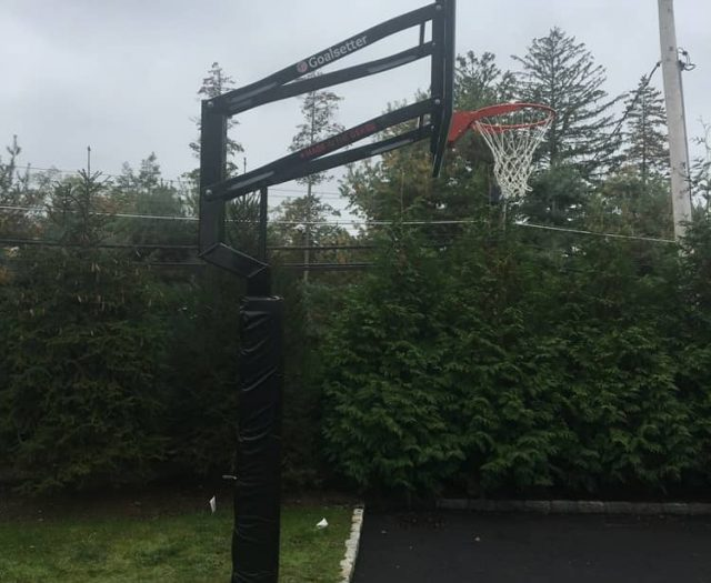 All American In Ground Basketball Hoop