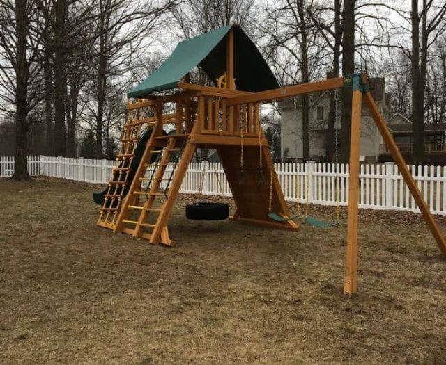 Extreme Playground Sling Swing Ladder
