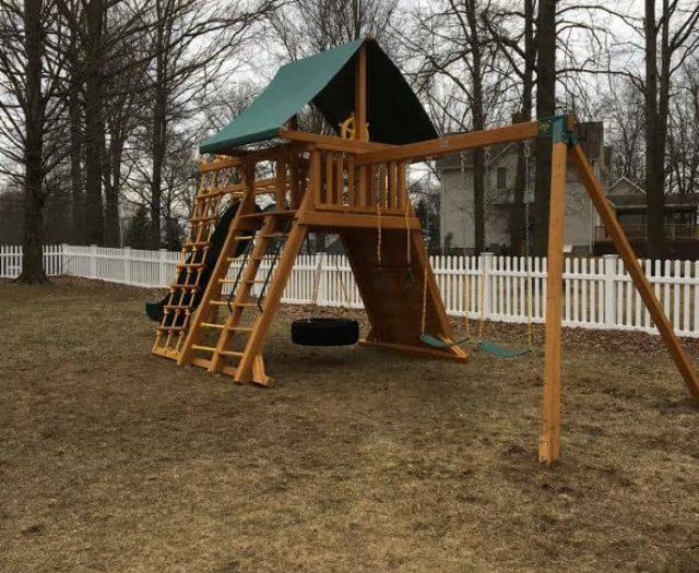 Extreme Playground Sling Swing Ladder