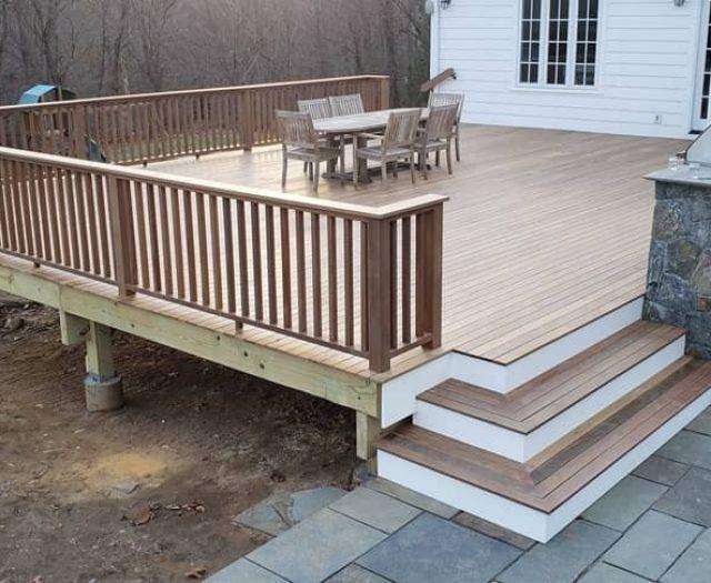 Wooden Deck Peconic Bay IPE