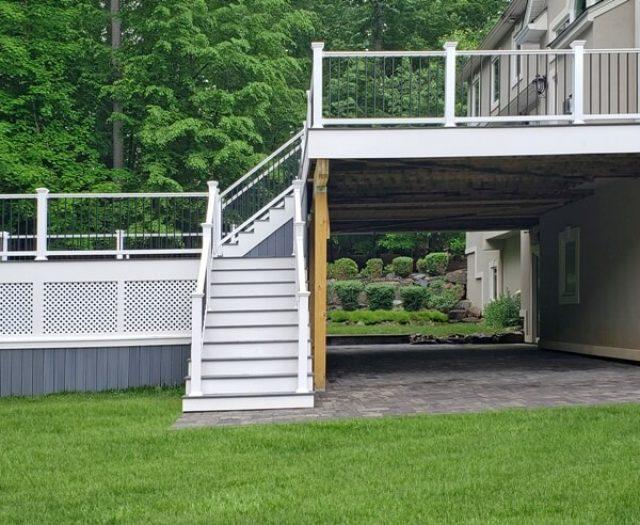Patio under Composite Deck