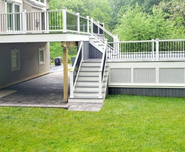 two story deck and patio builders