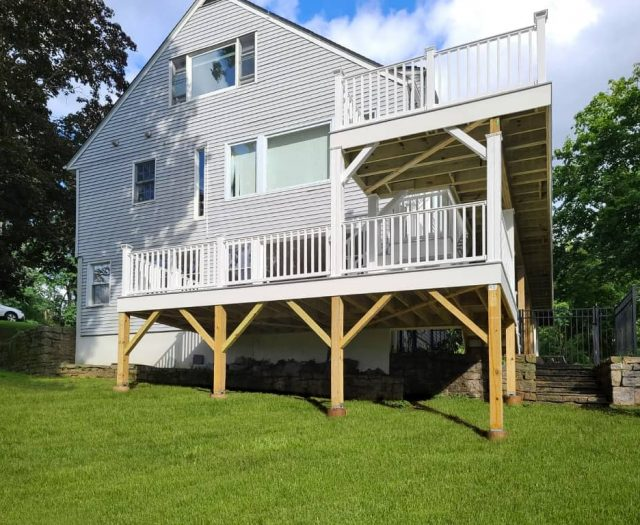 two story deck builders in ny