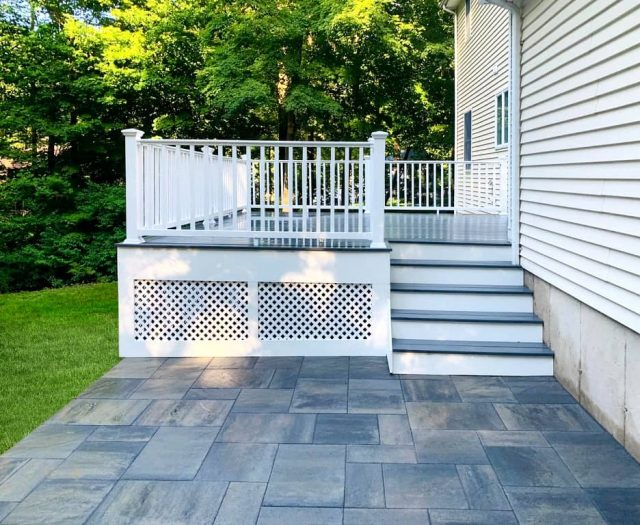 deck and stone patio builders
