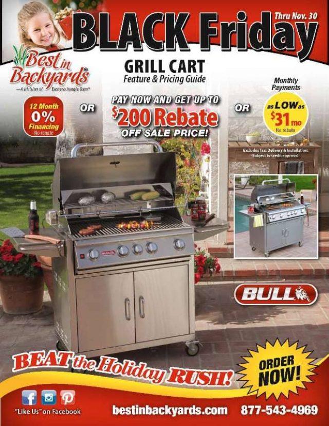 Nov 2020 Bull Grill Carts