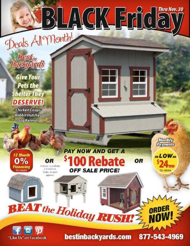 Nov 2020 Chicken Coops and Animal Shelters