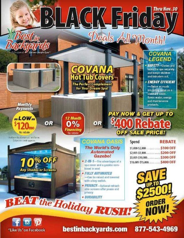 Nov 2020 Covana Hot Tub Covers