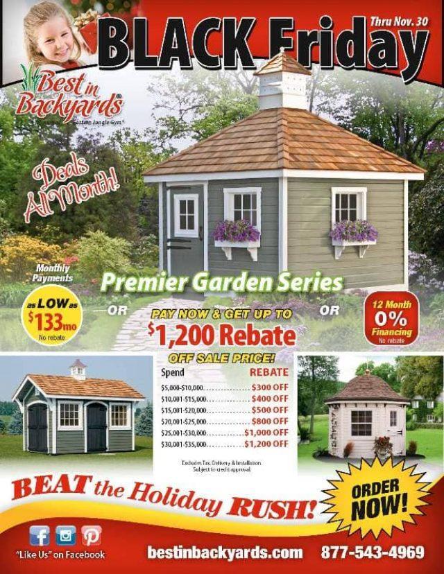Nov 2020 Garden Series Sheds