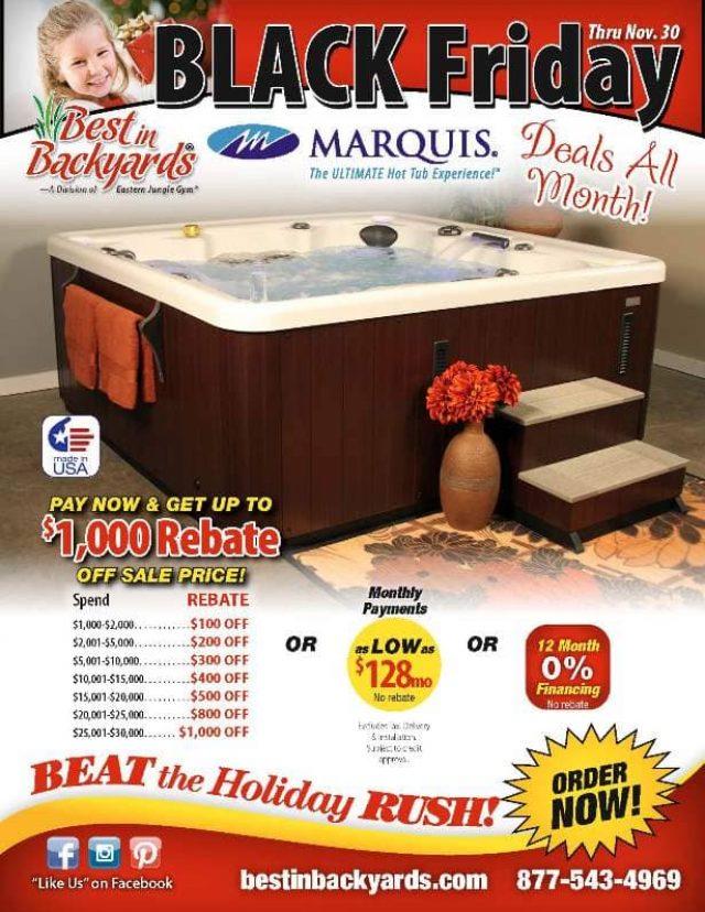Nov 2020 Marquis Hot Tubs