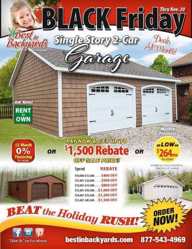 Nov 2020 Single Story Two Car Garage