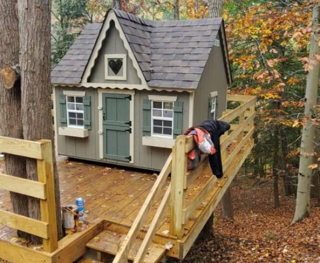 Victorian playhouses for girls for sale