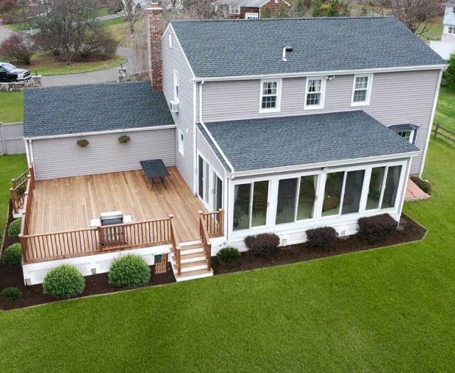 deck and railing installation in ny and ct