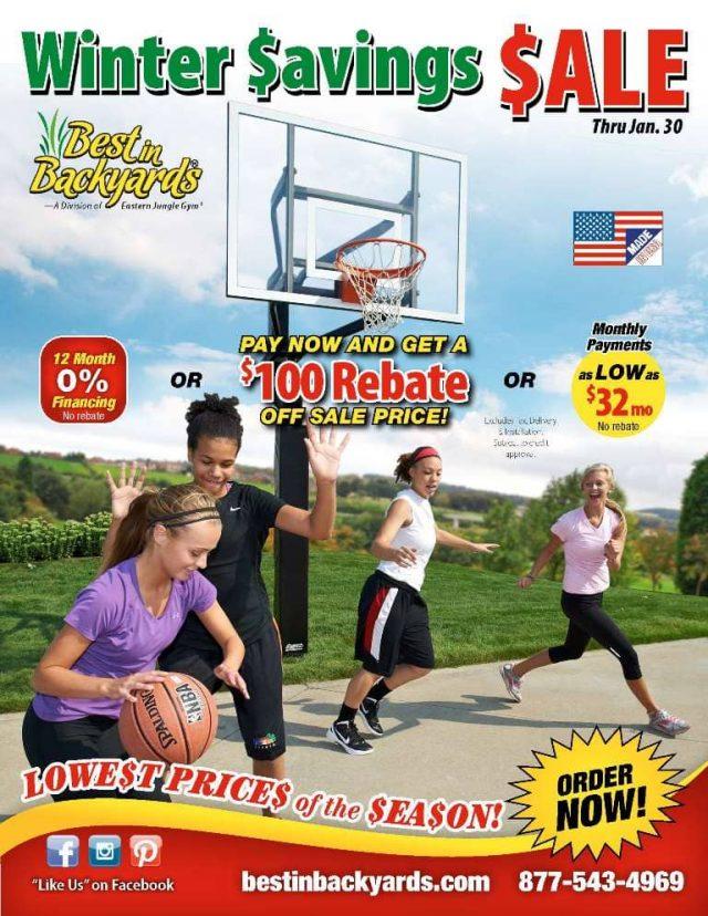 Basketball Systems by Goalsetter Sale