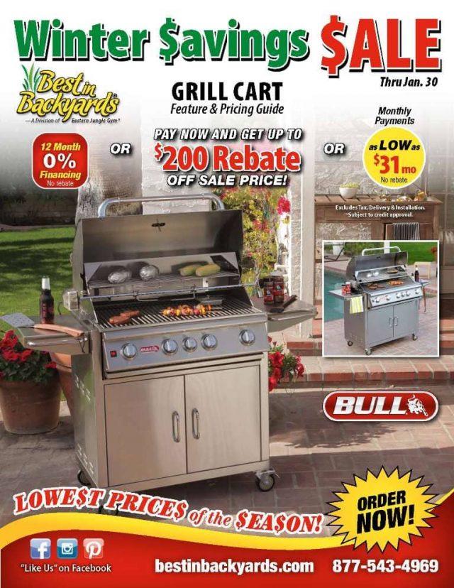 Bull Grill Cart Sale