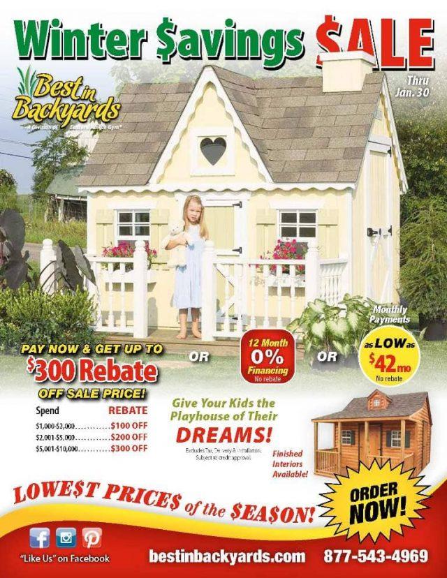 Childrens Playhouses Sale