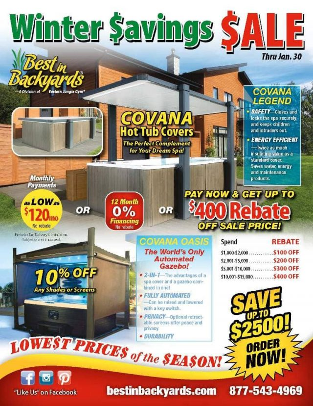 Covana Hot Tub and Spa Covers Sale