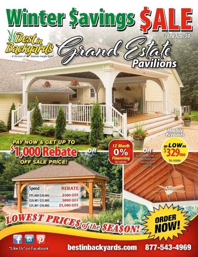 Grand Estate Pavilions Sale