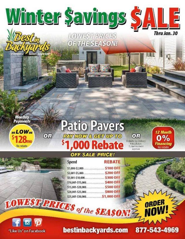 Patio Pavers Sale