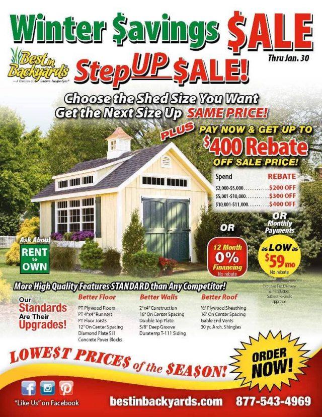 Storage Shed Sale