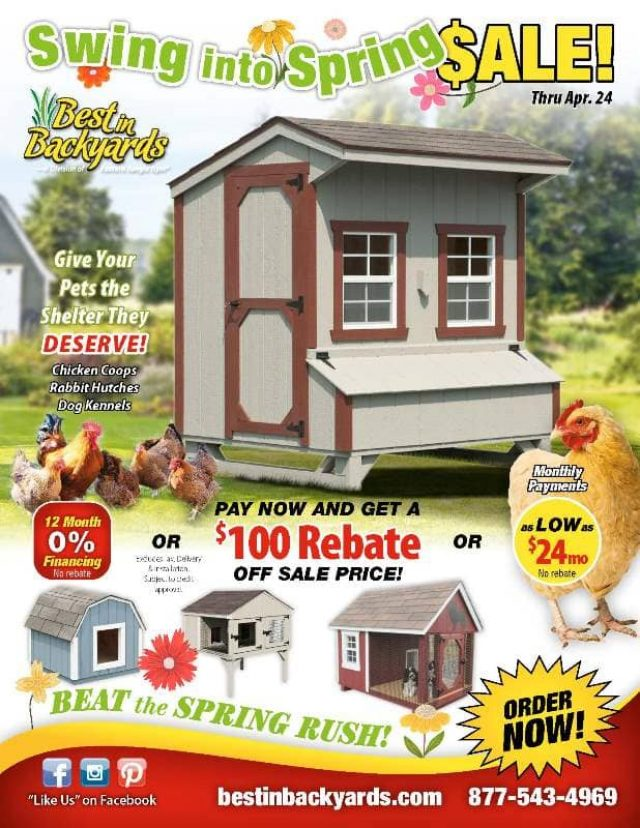 Chicken Coops and Pet Shelters April Cover