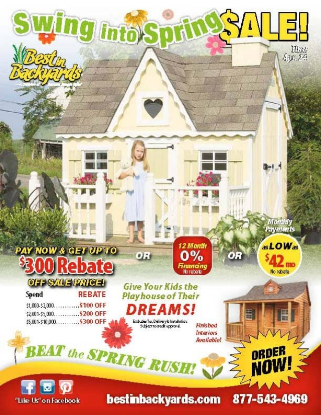 Children's Playhouse April Cover
