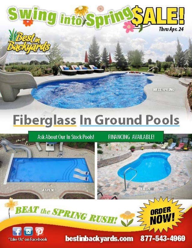 Fiberglass In Ground Pools April Cover