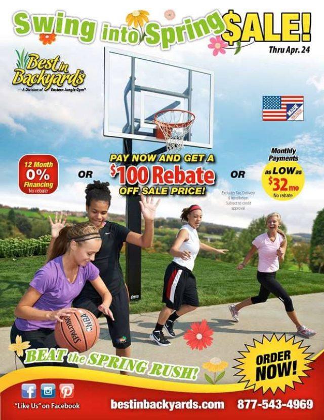 Goalsetter Basketball Systems April Cover