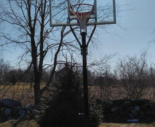 Goalsetter Contender In Ground Basketball Hoop