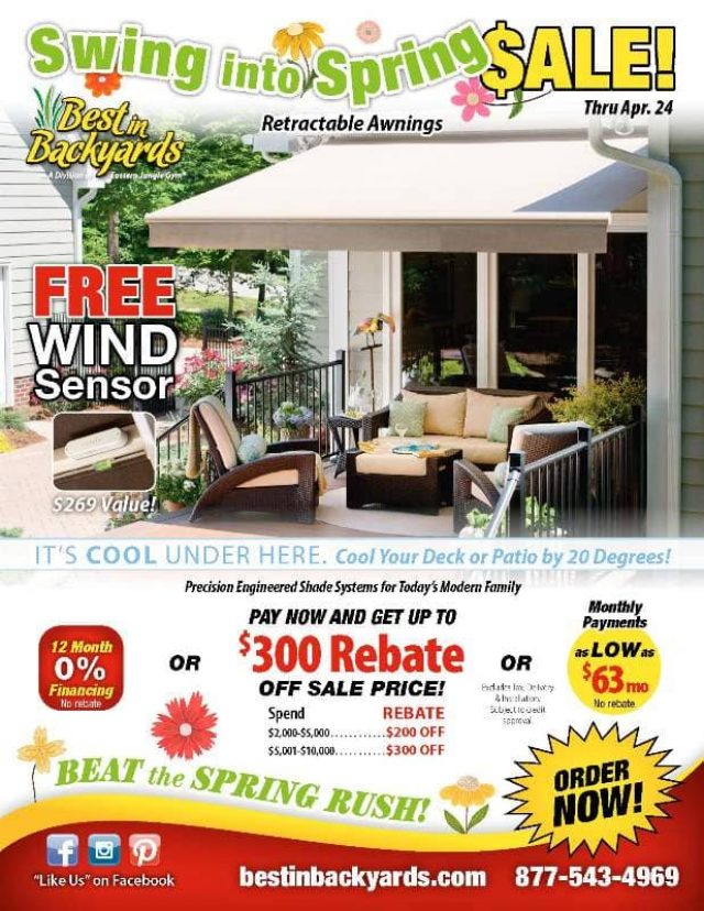 Retractable Awnings April Cover