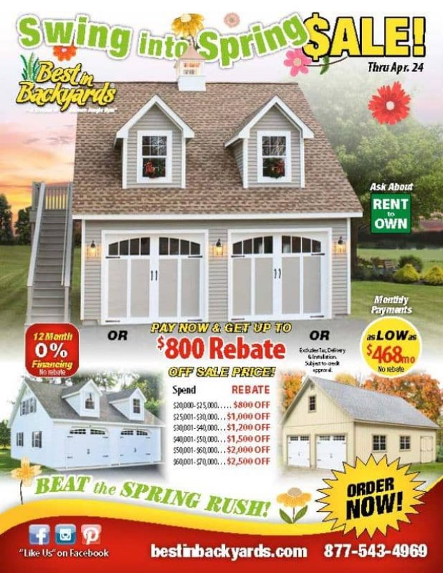 Two Story Two Car Garage April Cover