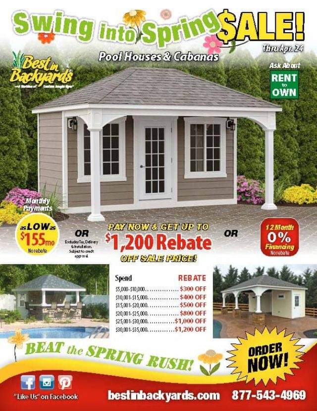 Pool Houses April Cover