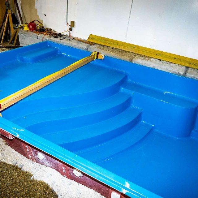fiberglass inground pool customizations