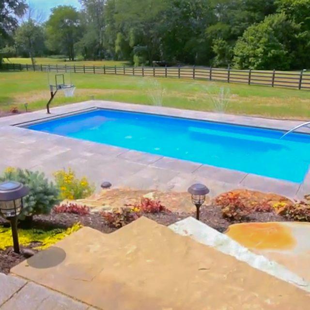 backyard inground pool installation in ny