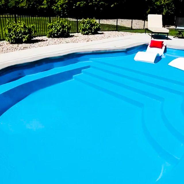 Sun Day fiberglass inground pool installation near me