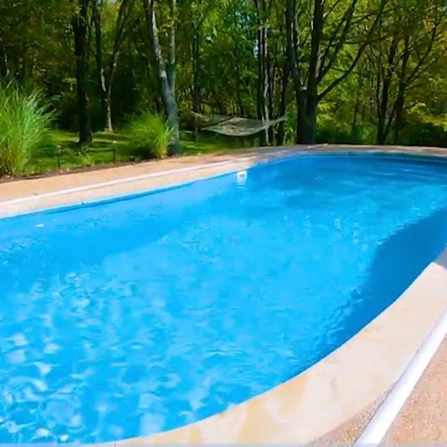 titus fiberglass inground pool installation near me