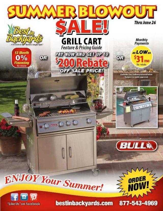 Bull Grill Carts June Cover
